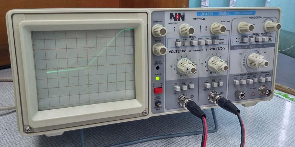 osciloscopio automotriz analogico