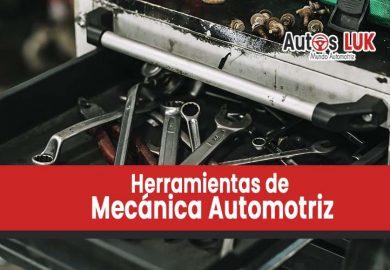 Lista de Herramientas de Mecánica Automotriz: Todo lo que un Taller Necesita