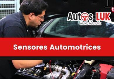 Sensores Automotrices: Tipos, Clasificación y Fallas