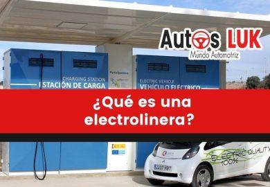 ¿Qué es una electrolinera?