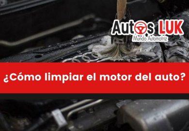 Cómo limpiar el motor del auto fácil y correctamente