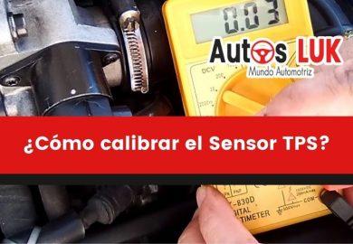 ¿Cómo calibrar el Sensor TPS del Automóvil?